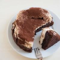 Schokoladen Baiser Torte