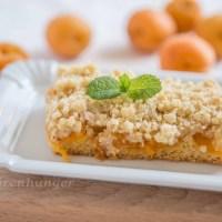 Marillen Kuchen mit Butterstreusel