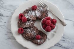 Schoko Vanille Pancakes