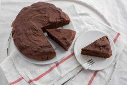 Rote Beete Schoko Torte