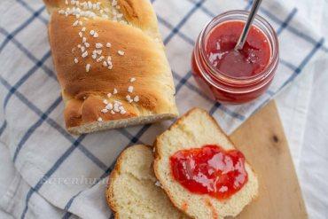 Erdbeer Rhabarber Marmelade