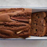 Schokoladen Rhabarber Kastenkuchen
