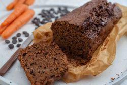 Schokoladen Karotten Kuchen