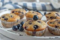 Vanille Heidelbeer Muffins
