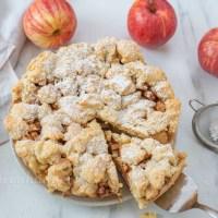 Saftiger Apfel Streusel Kuchen