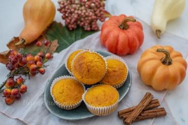 Herbstliche Kürbis Muffins