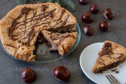Schokoladen Maroni Mandel Tarte