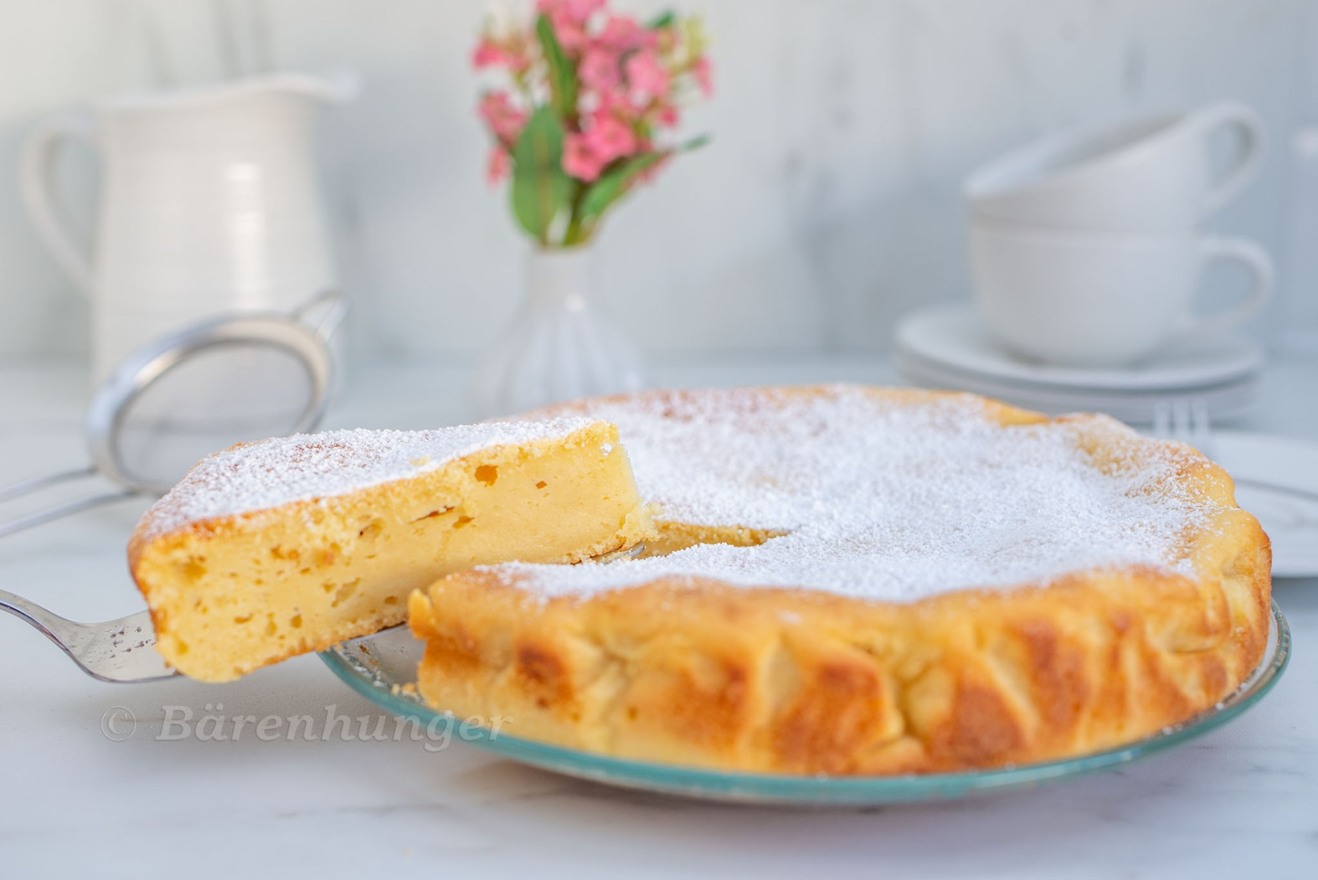 Vanille Ricotta Kuchen