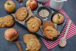 Apfel Haferflocken Cookies