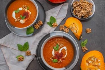 Paprika Kürbis Suppe