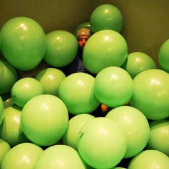 Ich in Ballons