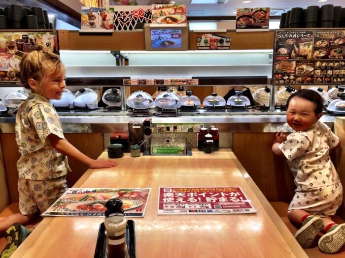 Die ersten Tage in Japan mit Kind - Essen