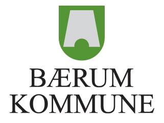 Bærum kommune Midtstilt logo 2 linjer farge ny