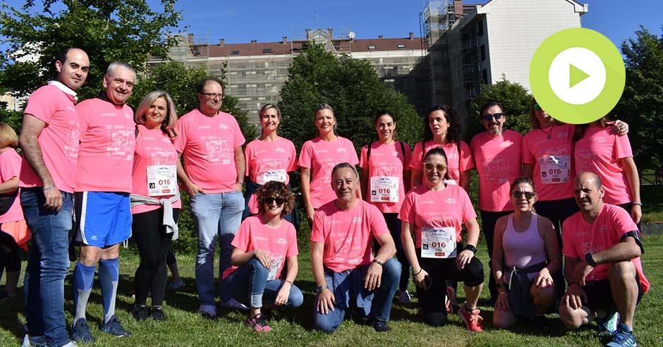 BAEZA Psicología y Formación y el Centro Médico de Asturias con la XV Carrera de la Mujer en Gijón