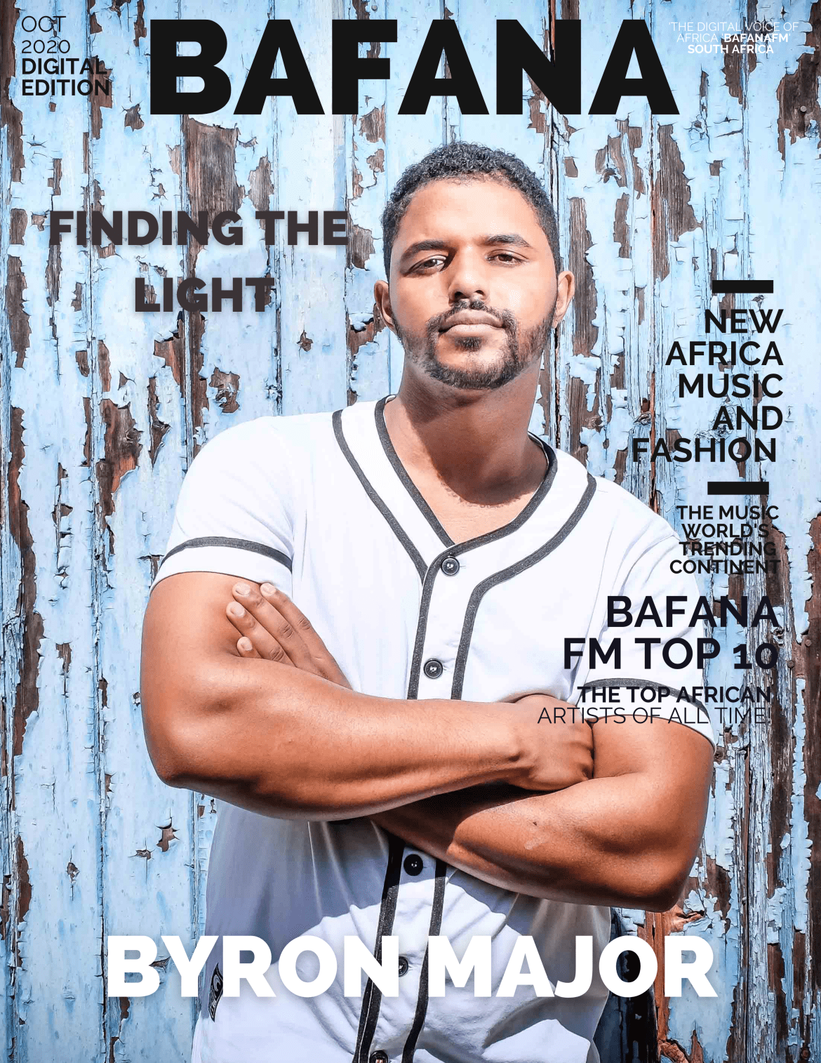 South Africa's 'Byron Major' is 'Finding the Light' with International success as he releases a tearjerking, heart wrenching, classic piano ballad of 'Stevie Wonder' and 'John Legend' Proportions.