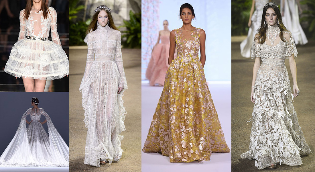 Wedding Dress Inspiration From The Couture Catwalks In