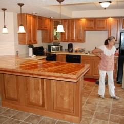 Cherry Wood Table And Chairs Big Lots Recliner Joe Buchanan Kitchen Cabinets Bar - Bagdad Lumber Sawmill & Kiln Llc