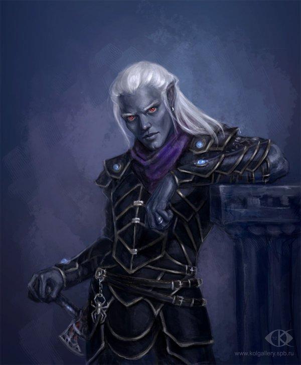 Drow Dark Elf Art