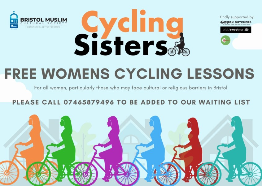 Poster for Cycling sisters