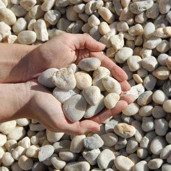 Cowra White decorative pebbles