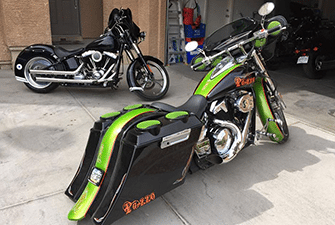home baggers bags extended stretched saddlebags