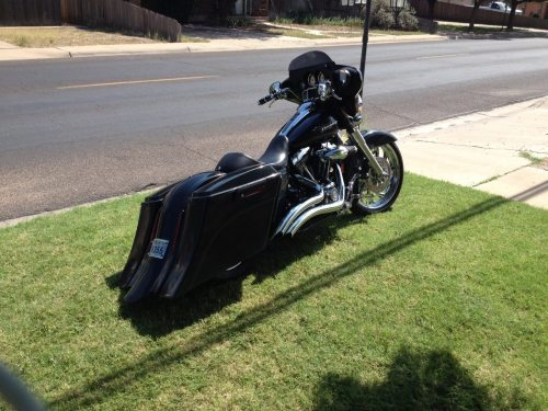 small resolution of harley davidson 6 extended out and down saddlebags