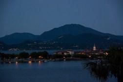 Lago at night