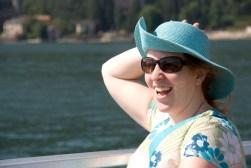 Lucinda on Lago Maggiore