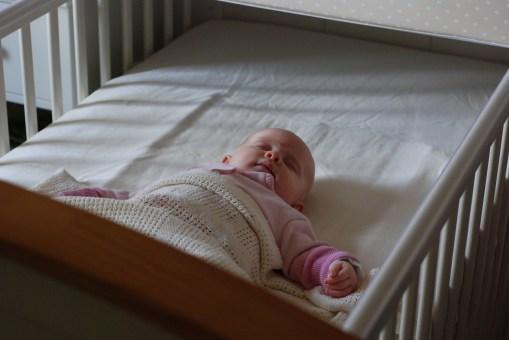 Asleep in my big bed!