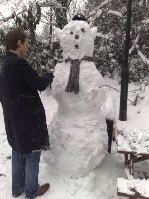 Alex and Snowman