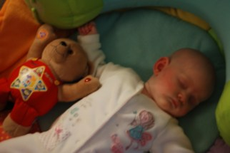 Zonked with Teddy!