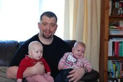 Éowyn, Daddy and Georgia