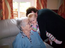 Visiting Great-Grandma