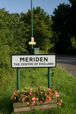 Centre of England