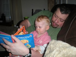 Teaching daddy to read