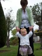 Just walking with my Nanny Fran