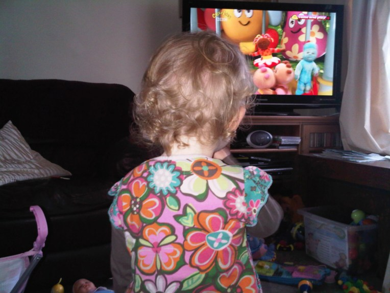 In the night garden is on!