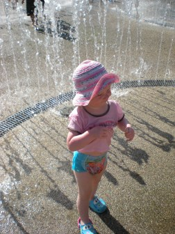 Waterpark on a hot day!