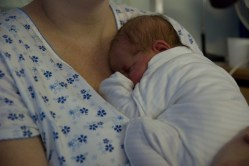 Asleep on Mommy