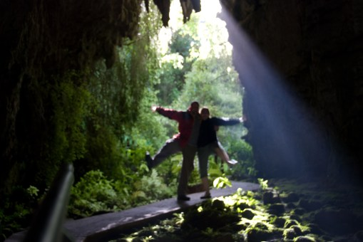 Glowworm caves
