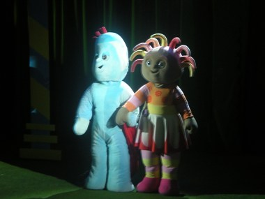 Iggle Piggle and Upsy Daisy!