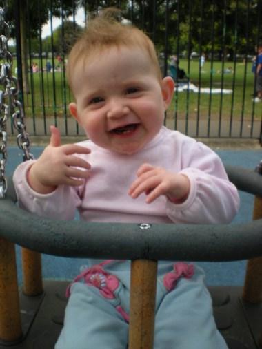 I like the swing!