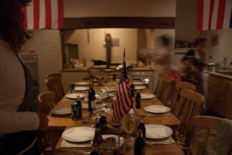 Busy preparing the banquet