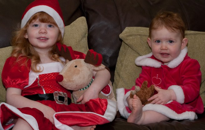 Merry Christmas with Love from Éowyn and Amélie xxx