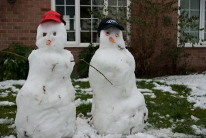 Ain't you seen snowmen before?