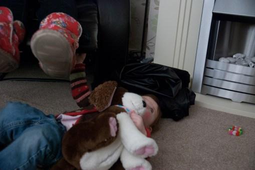 International dog-wrestling!