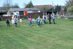 The egg and spoon race