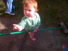 I've just swept that!
