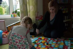 Snakes and Ladders with Auntie Liz