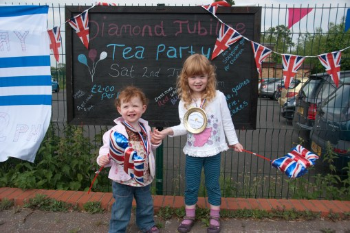 A Jubilee Tea Party